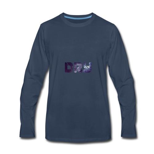 DRY Brand Galaxy - Men's Premium Long Sleeve T-Shirt