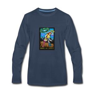 BVGSVSCOILS - Men's Premium Long Sleeve T-Shirt