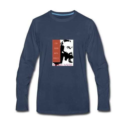 Easter, April Fool's, 4/1/18 - Men's Premium Long Sleeve T-Shirt