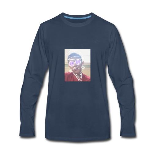 joe giurleo being a hipster - Men's Premium Long Sleeve T-Shirt
