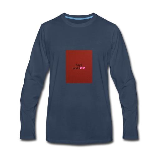 Kay's world - Men's Premium Long Sleeve T-Shirt