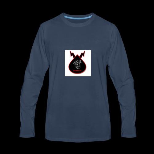 Demon729 logo - Men's Premium Long Sleeve T-Shirt