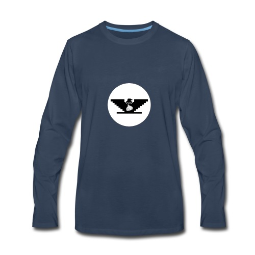 Garlic Huelga Bird - Men's Premium Long Sleeve T-Shirt