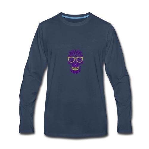 ShadowedLiar Channel Logo - Men's Premium Long Sleeve T-Shirt