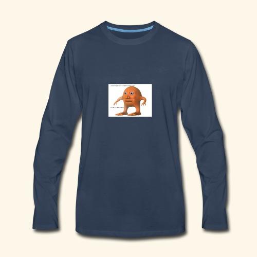 mr orange - Men's Premium Long Sleeve T-Shirt