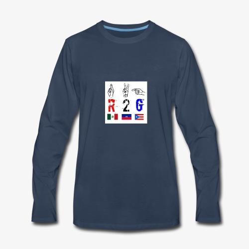 A7EEC35A 4227 48EE A4B6 B48BD969E92C - Men's Premium Long Sleeve T-Shirt