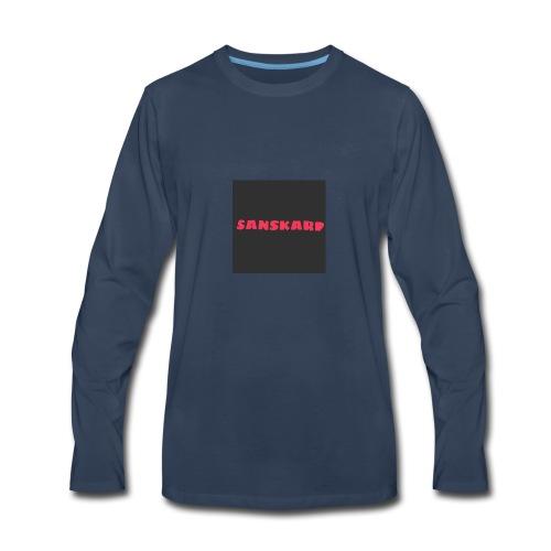 sans - Men's Premium Long Sleeve T-Shirt