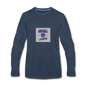Fantasty Football Legend - Men's Premium Long Sleeve T-Shirt