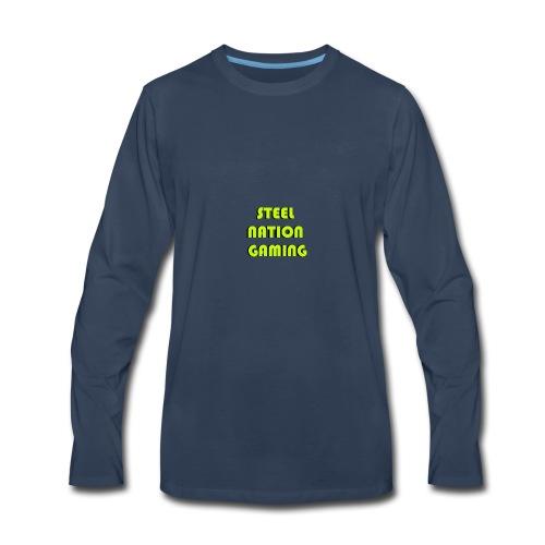 STEELNATION - Men's Premium Long Sleeve T-Shirt