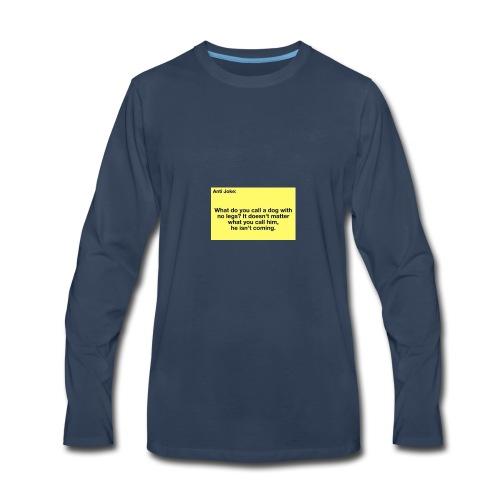 Funny joke - Men's Premium Long Sleeve T-Shirt