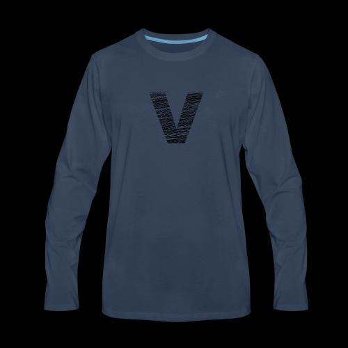 Varsity Beach - Men's Premium Long Sleeve T-Shirt