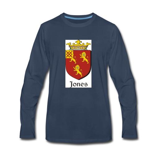 Jones Irish Crest - Men's Premium Long Sleeve T-Shirt