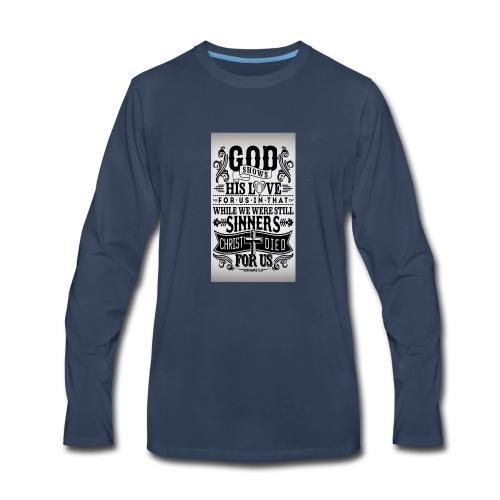 In God We Trust - Men's Premium Long Sleeve T-Shirt