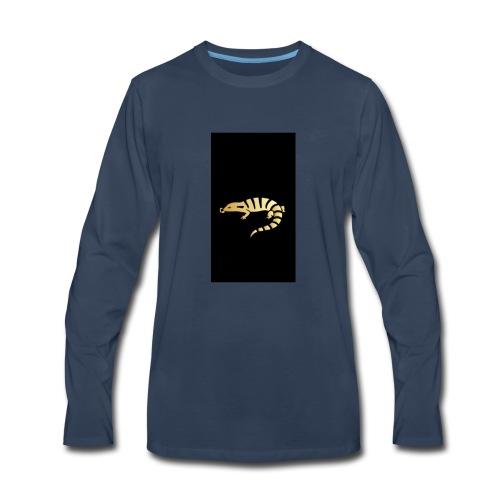 JacobYourUber's Salamander - Men's Premium Long Sleeve T-Shirt