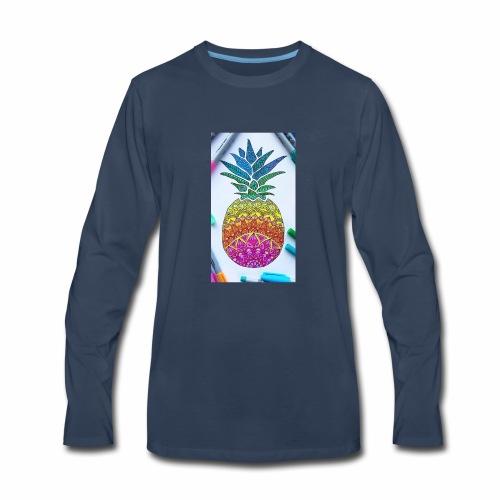 Kainat's outlet - Men's Premium Long Sleeve T-Shirt