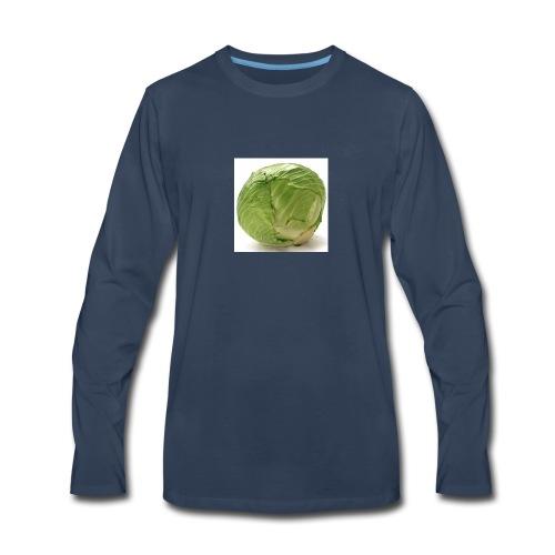 CabbageTexts Streetwear - Men's Premium Long Sleeve T-Shirt