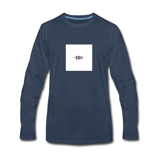 Reflect - Men's Premium Long Sleeve T-Shirt