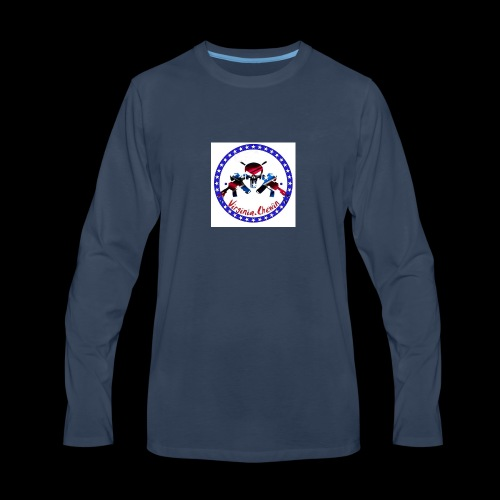 Virginia chewin' logo - Men's Premium Long Sleeve T-Shirt
