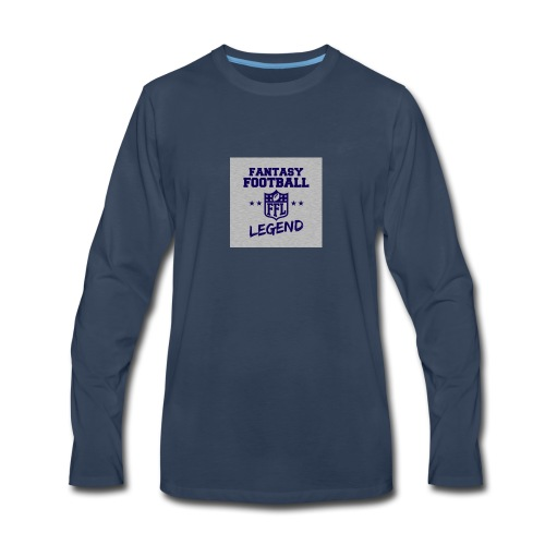 Fantasty Football Legend - Men's Premium Long Sleeve T-Shirt
