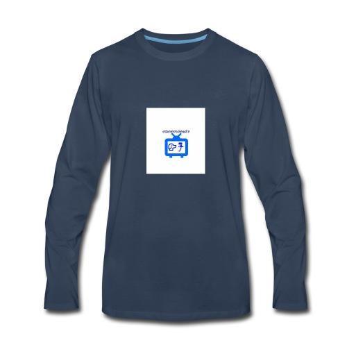 OdogVlogsTv Offical Logo - Men's Premium Long Sleeve T-Shirt