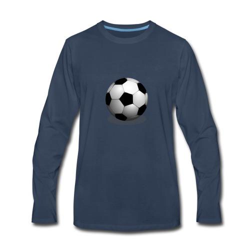 Soccer ball - Men's Premium Long Sleeve T-Shirt