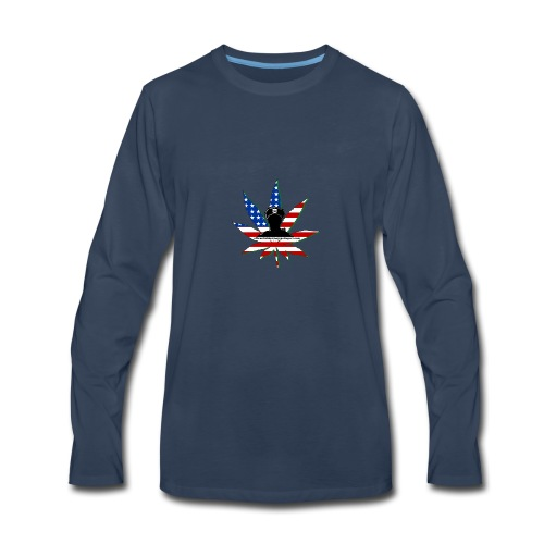 Logo_1-2 - Men's Premium Long Sleeve T-Shirt