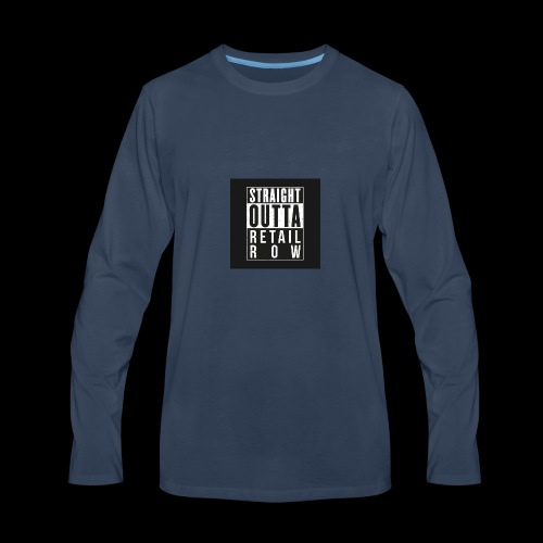Straight outta retail row fortnite Phone case - Men's Premium Long Sleeve T-Shirt