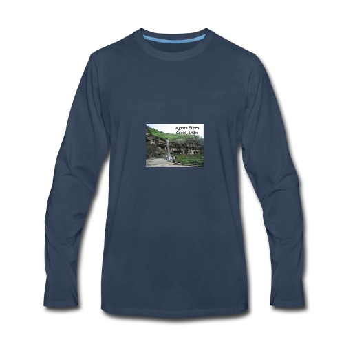 most famous landmarks - Men's Premium Long Sleeve T-Shirt