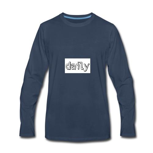 daily merch - Men's Premium Long Sleeve T-Shirt
