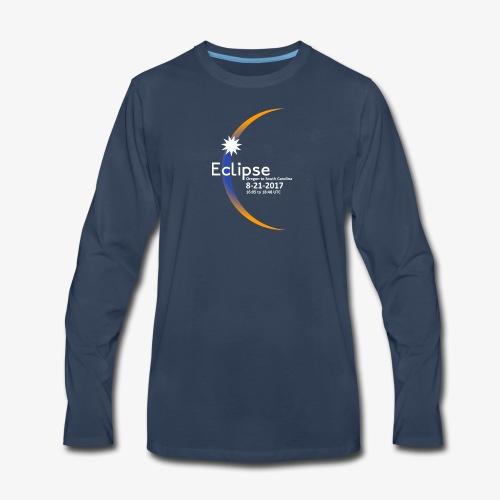Eclipse 2017 Commemorative Insignia - Men's Premium Long Sleeve T-Shirt