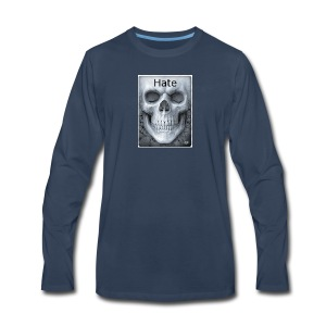 e1c03d5696bdc1fb2e82d0e7f4f9e360 badass skulls in - Men's Premium Long Sleeve T-Shirt