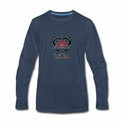 Eager Beaver - Men's Premium Long Sleeve T-Shirt