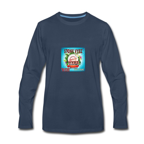 Summer vybz merch - Men's Premium Long Sleeve T-Shirt