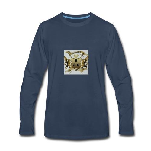 D4G logo - Men's Premium Long Sleeve T-Shirt