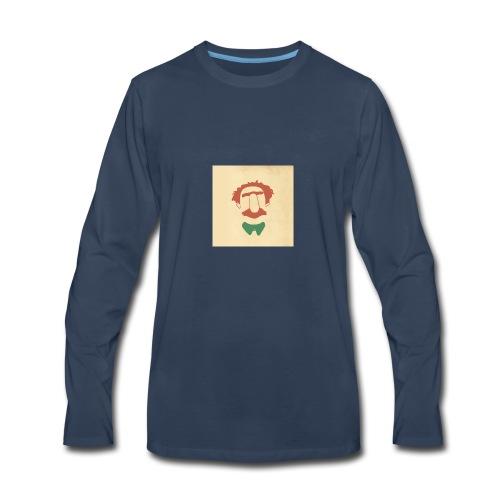 Designing Drama - Men's Premium Long Sleeve T-Shirt