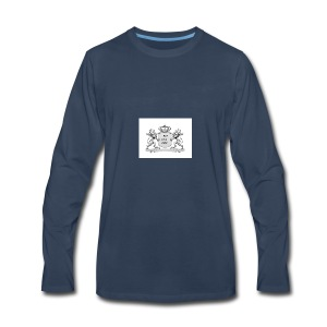 NO way man crowns of cougar - Men's Premium Long Sleeve T-Shirt