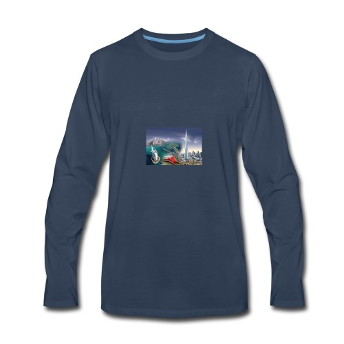 UAE Business Directory Yellow Pages Online - Men's Premium Long Sleeve T-Shirt
