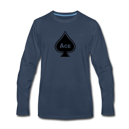 Ace - Men's Premium Long Sleeve T-Shirt
