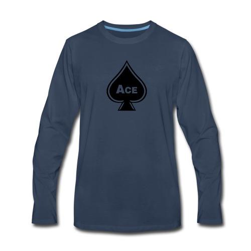 Ace - Men's Premium Long Sleeve T-Shirt