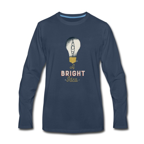 Kayaking is always a bright idea - Men's Premium Long Sleeve T-Shirt