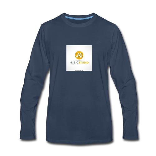 prosductos music studios - Men's Premium Long Sleeve T-Shirt