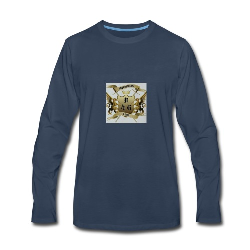 D4G logo - Men's Premium Long Sleeve T-Shirt
