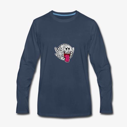 boo mario diseno camisetas - Men's Premium Long Sleeve T-Shirt