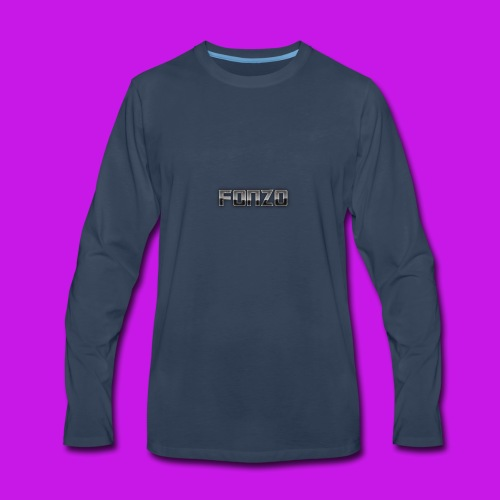 New fonzo - Men's Premium Long Sleeve T-Shirt