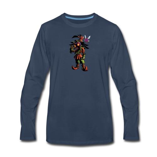 skull kid - Men's Premium Long Sleeve T-Shirt