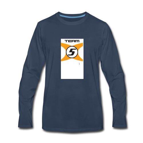087C4026 9308 49F6 9E0A DA29E2BFA5D8 - Men's Premium Long Sleeve T-Shirt