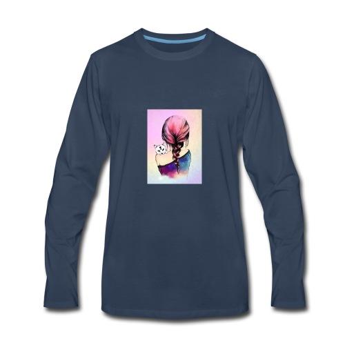 b1813b29cd96b0fca0a5c345956effaa cute drawings dr - Men's Premium Long Sleeve T-Shirt