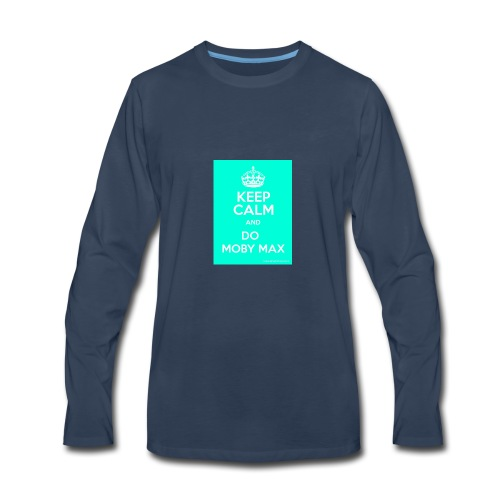 The moby maxers shirt- patrick - Men's Premium Long Sleeve T-Shirt