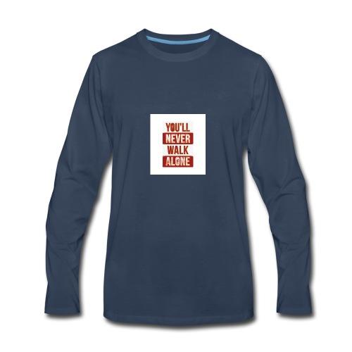 liverpool fc ynwa - Men's Premium Long Sleeve T-Shirt