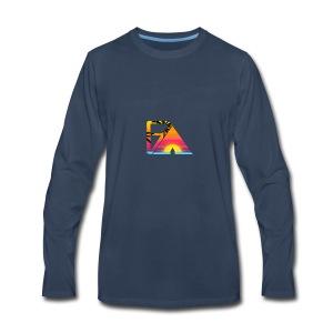 Beach theme - Men's Premium Long Sleeve T-Shirt